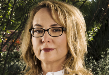 Portrait of Gabby Giffords